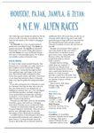 Issue: EONS #29 - Houseki, Pajak, Jamila, & Zetan: 4 N.E.W. Alien Races