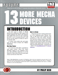 RPG Item: 13 More Mecha Devices