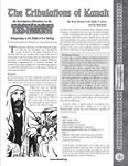 RPG Item: The Tribulations of Kanah