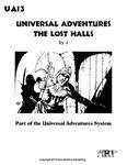 RPG Item: UA13: Universal Adventures The Lost Halls