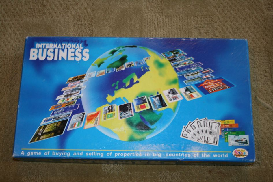 International Business Board Game BoardGameGeek - Countries of the world game