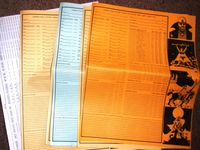 RPG Item: Ysgarth Rule System Record Sheets