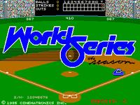 Video Game: World Series: The Season