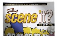 Board Game: Scene It? The Simpsons Deluxe Edition
