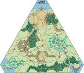 My home created triangular map