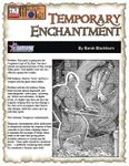 RPG Item: Temporary Enchantment