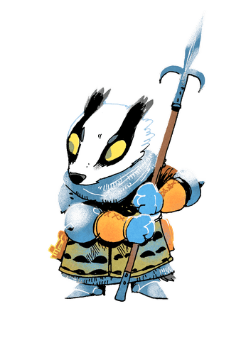 Badger faction art.