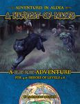 RPG Item: Adventures in Aldea: A Harvest of Masks