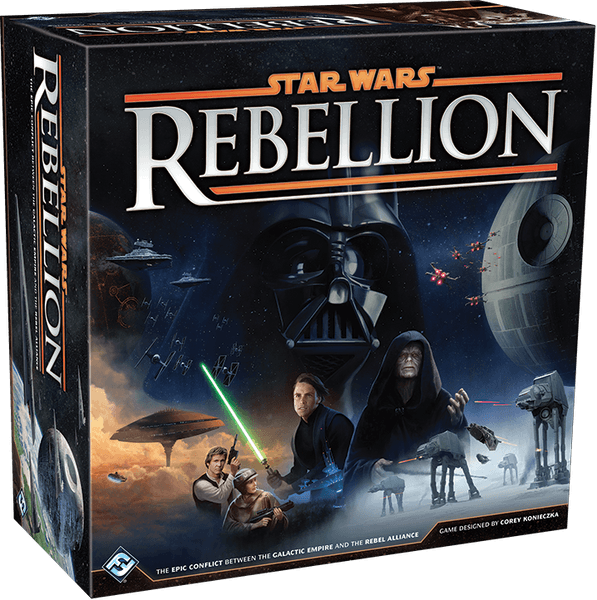 Star Wars: Rebellion, Fantasy Flight Games, 2015 (image provided by the publisher)