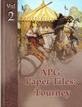 RPG Item: APG Paper Tiles Volume 2: Tourney