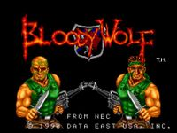 Video Game: Bloody Wolf