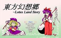 Video Game: Lotus Land Story