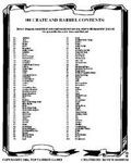 RPG Item: 100 Crate and Barrel Contents