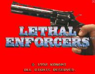 Video Game: Lethal Enforcers