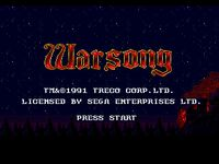 Video Game: Warsong