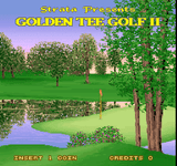 Video Game: Golden Tee Golf II