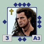 Wallace Custom Sticker (Braveheart Version)