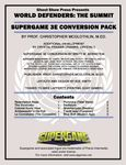 RPG Item: World Defenders: The Summit - Supergame 3E Conversion Pack
