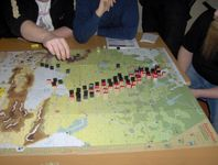 Summer '42 - German breakthrough in the south. They don't yet have a rail link to support further advance.