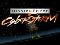 Video Game: Mission Force: CyberStorm