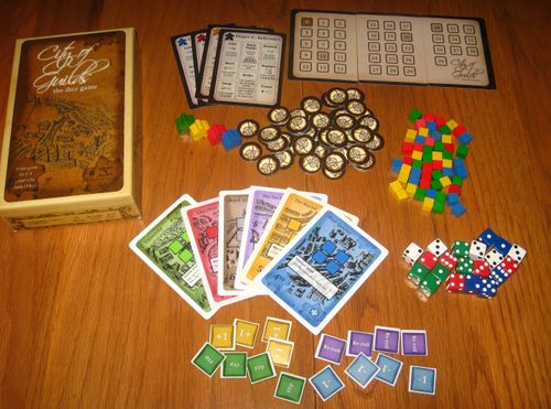 Board Game: City of Guilds: The Dice Game