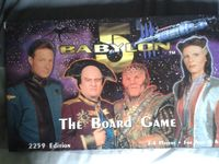 Board Game: Babylon 5 Component Game System: Core Sets