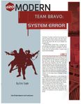 RPG Item: Team Bravo: System Error