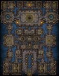 RPG Item: VTT Map Set 153: The Arena of Heroes