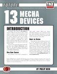 RPG Item: 13 Mecha Devices