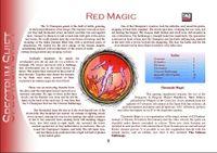 RPG Item: Colours of Magic: Red Magic (D20)