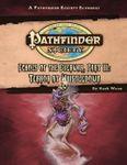 RPG Item: Pathfinder Society Scenario 1-44: Terror at Whistledown