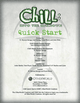 RPG Item: Chill: Into the Unknown Quick Start