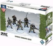 """Board Game: Dust Tactics: Rangers Command Squad – """"The Boss"""""""