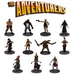 Board Game Accessory: The Adventurers: The Pyramid of Horus Pre-Painted Miniatures