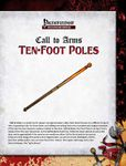 RPG Item: Call to Arms: Ten-Foot Poles