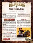 RPG Item: Giants in the Mist