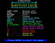 Video Game: Cosmic Camouflage