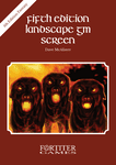 RPG Item: Fifth Edition Landscape GM Screen