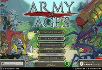 Video Game: Army of Ages