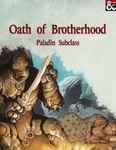 RPG Item: Oath of Brotherhood