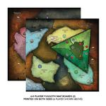Board Game: Cthulhu Wars: Six to Eight Player Yuggoth Map