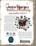 RPG Item: Crawthorne's Catalog of Creatures: Gaze Grabber