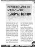 RPG Item: Magical Beasts
