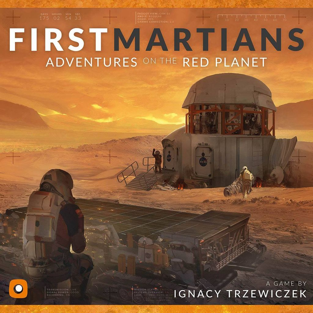 Board Game: First Martians: Adventures on the Red Planet