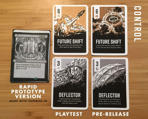 Board Game: Control