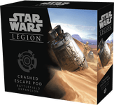 Board Game: Star Wars: Legion – Crashed Escape Pod Battlefield Expansion