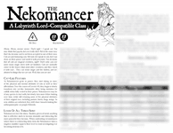 RPG Item: The Nekomancer