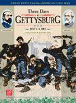 Board Game: Three Days of Gettysburg (Third Edition)