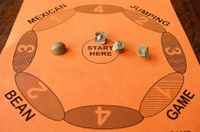 Board Game: Mexican Jumping Bean Game