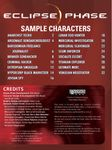 RPG Item: Eclipse Phase Sample Characters